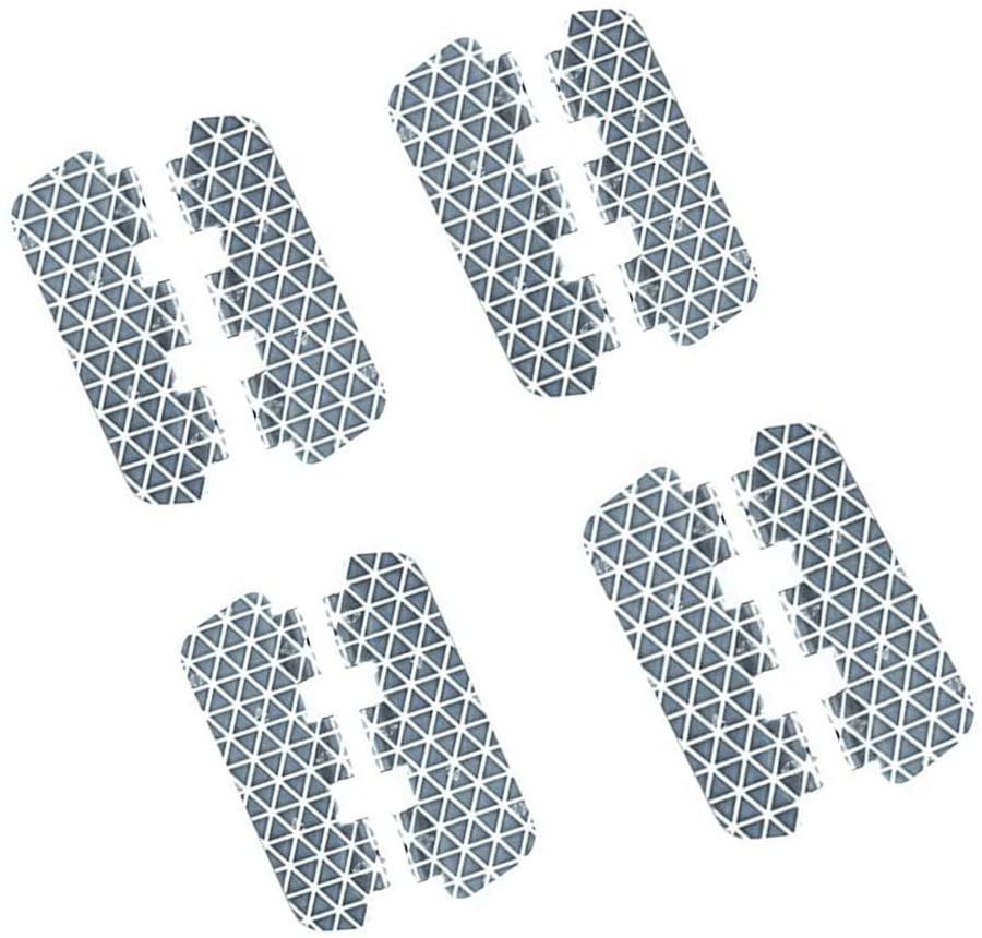 Bike Spoke Reflector Butterfly Shape Bladed Pack of 8 - Reflectors for Mountain and Road Bikes - Kids Bike Reflector - Waterproof Bicycle Reflectors Fits to Spokes 13-15 Gauge (1.5-2.5mm)