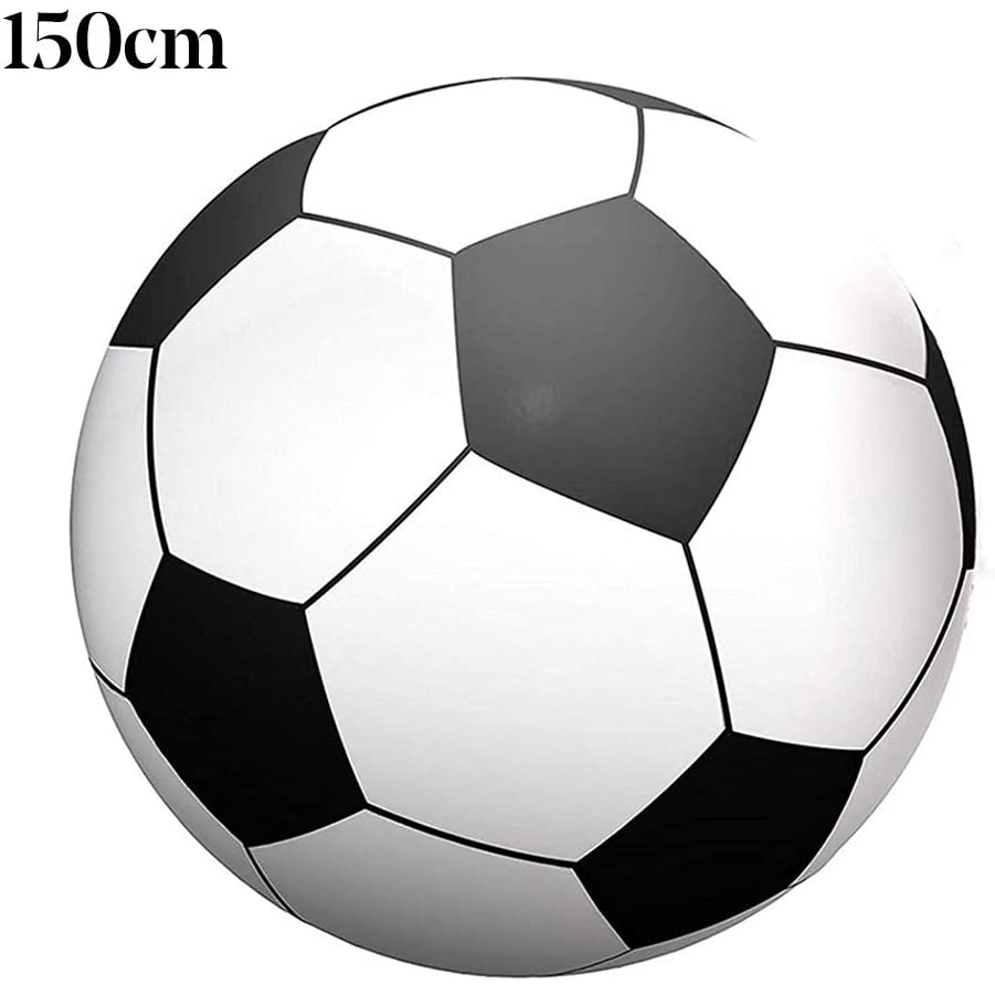 oAtm0eBcl IQ Builder |Challenging IQ Games丨100/150cm Inflatable Pool Beach Sport Ball Football Soccer Outdoor Party Kid Toy丨Mental Exercises for Sharp Young Minds - 100% Child Safe … 150cm Soccer
