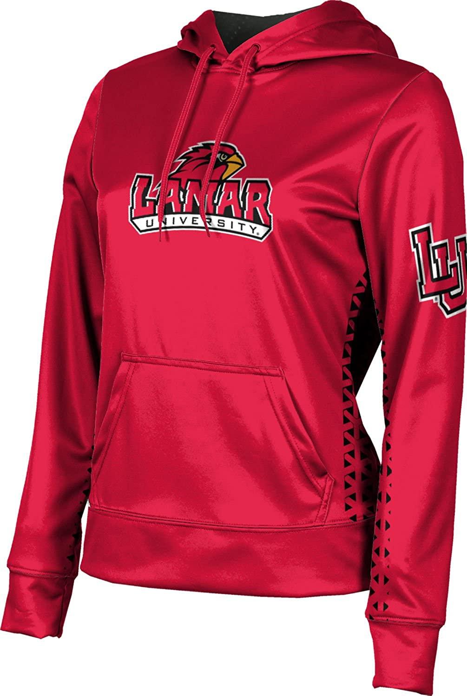 ProSphere Lamar University Women's Pullover Hoodie, School Spirit Sweatshirt (Geo)