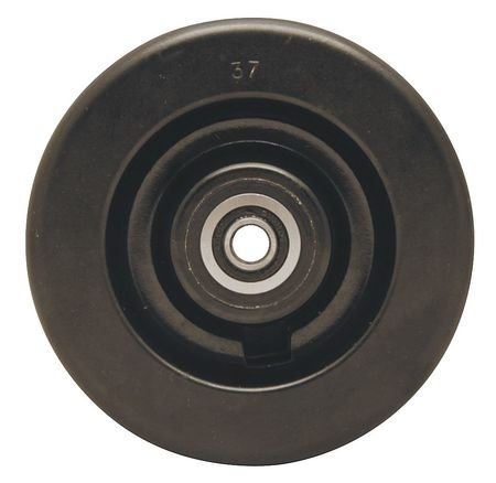 Caster Wheel, 5 in, Precision Ball Bearing