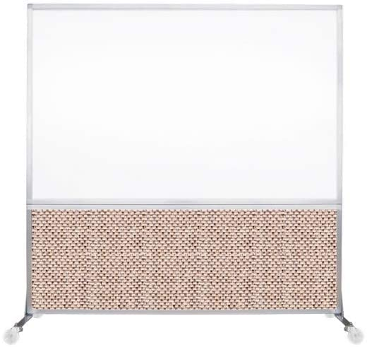 VERSARE DivideWrite Mobile Whiteboard Partition – Magnetic Dry Erase Board Room Divider
