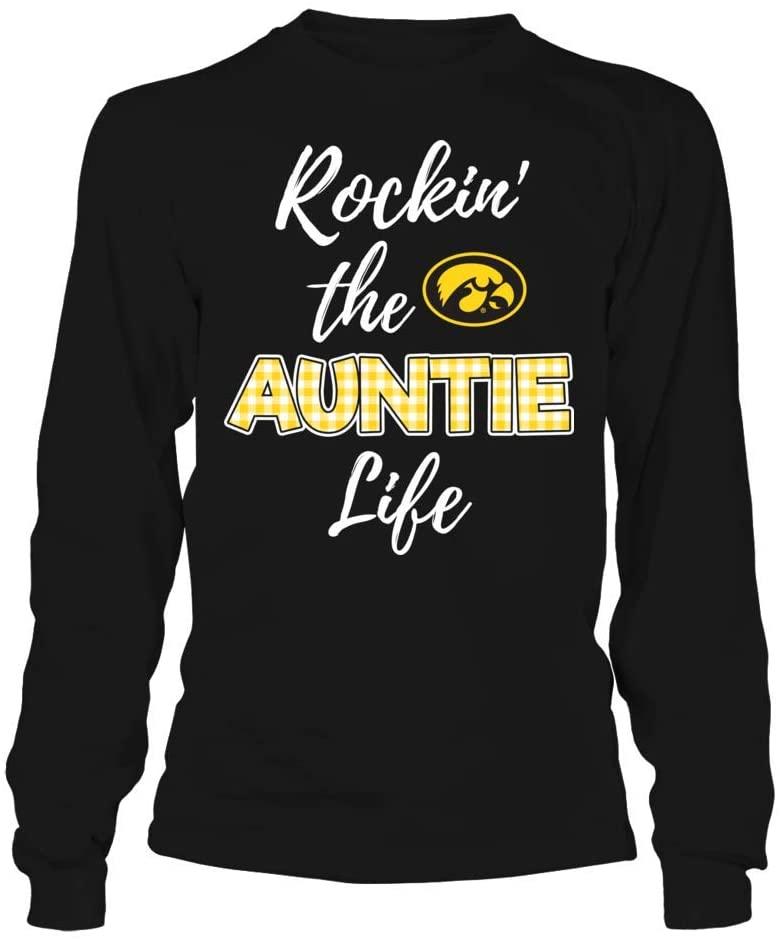 FanPrint Iowa Hawkeyes T-Shirt - Rockin The Auntie Life