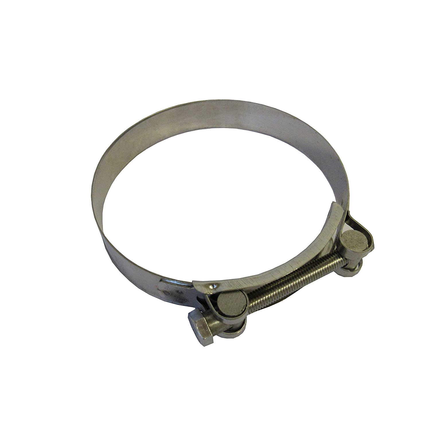 Hose Clamp, 98-103 mm (3.85 to 4.06) Heavy Duty T-Bolt Clamp, 304 Stainless Steel (Pack of 2)