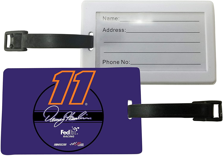 R and R Imports, Inc Denny Hamlin #11 Luggage Tag 2-Pack