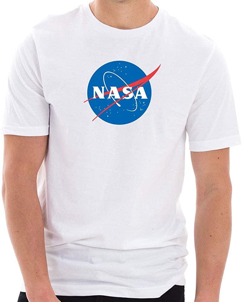 Original NASA Insignia Logo Designed Short Sleeve Cotton Jersey T-Shirt