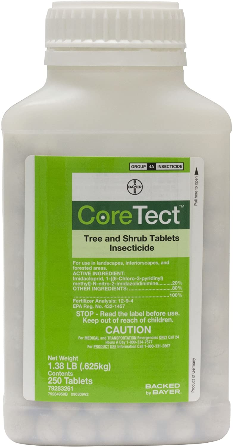Coretect Tree & Shrub Tablets Insecticide - 250 Tablets per bottle