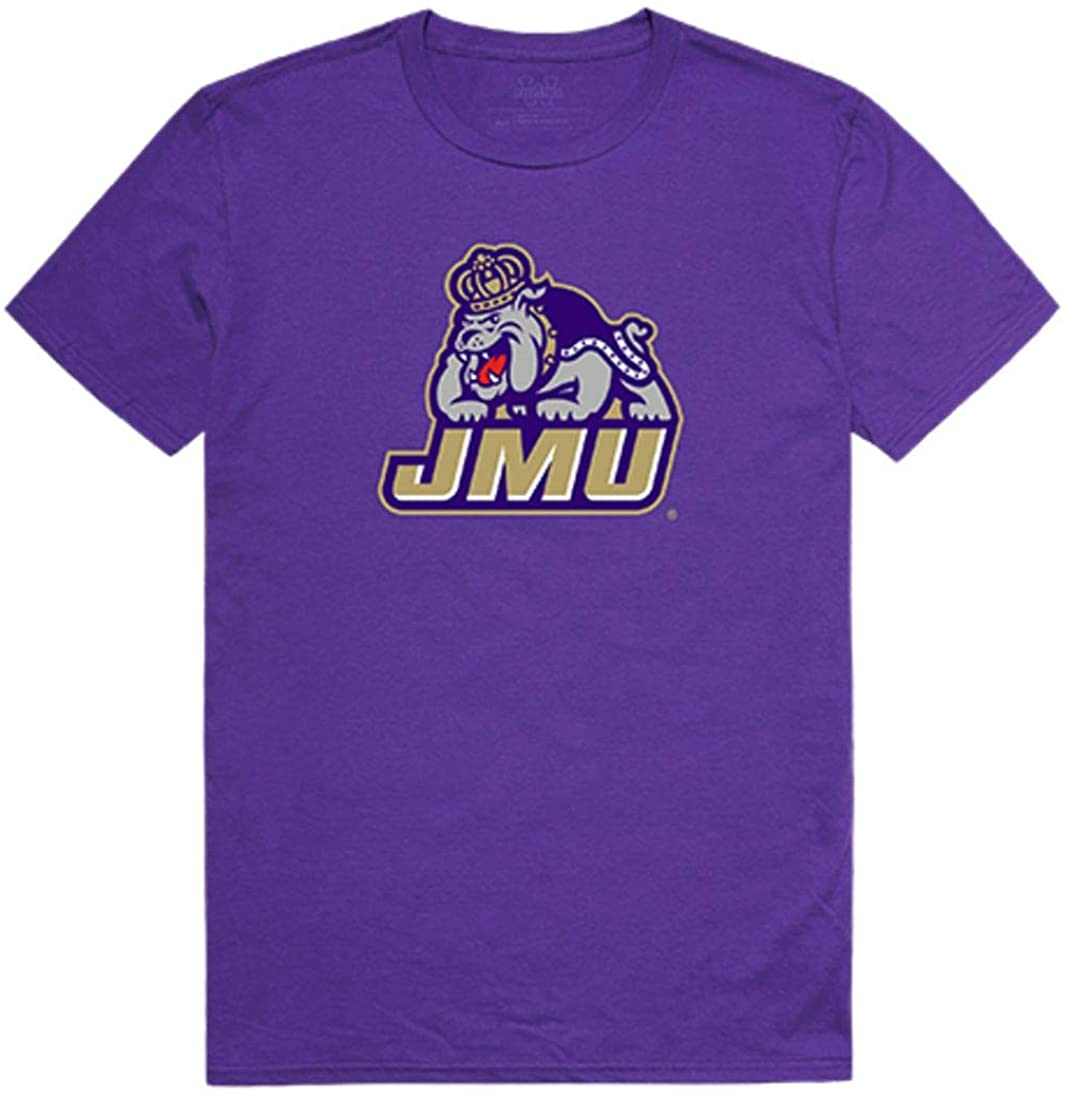 James Madison University Foundation Dukes NCAA Freshman Tee T-Shirt Purple