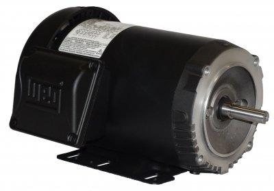 WEG Electric 00336ET3H182TC-S, 3HP, 3600 RPM, 3PH, 575V, 182/4TC Frame, C-Face Flange, Foot Mount, TEFC, General Purpose Motor
