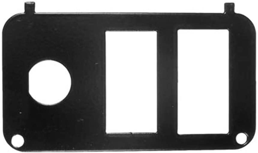 Performance Plus Carts Key Switch Console Plate EZGO PDS Golf Cart