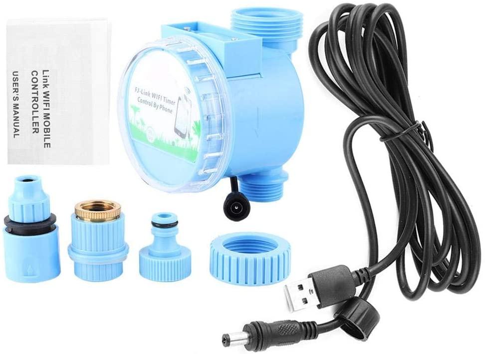 Yosoo Sprinkler Controller Plastic Watering Irrigation Controller WiFi Controller for Garden Lawn Balcony (4.7 x 3.9 x 3.5 in)