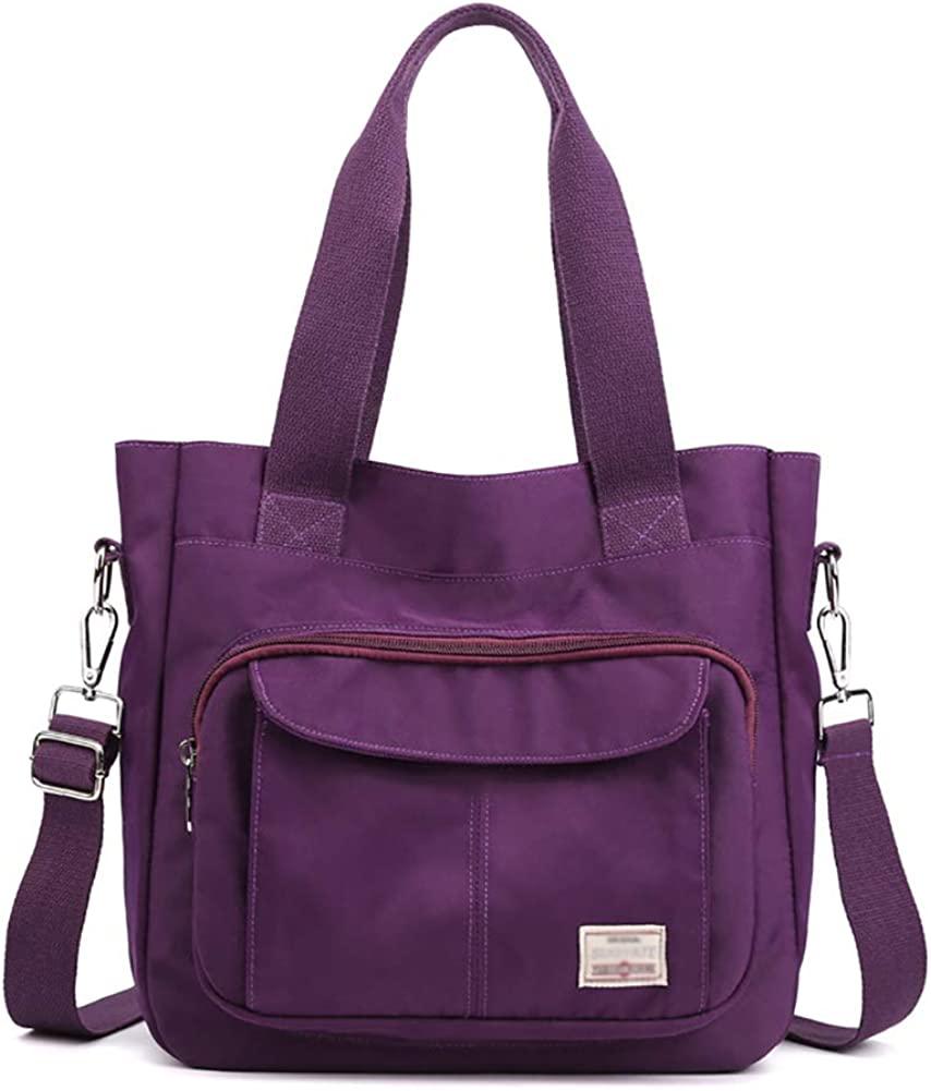KARRESLY Women's Casual Hobo Shoulder Bag Large Capacity Nylon Daily Messenger Bag Work Shopper Handbag Purse