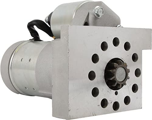 Rareelectrical NEW STARTER COMPATIBLE WITH GM SBC BBC CHEVY SUPER MINI HIGH TORQUE 153/168 TOOTH S114-823SBX