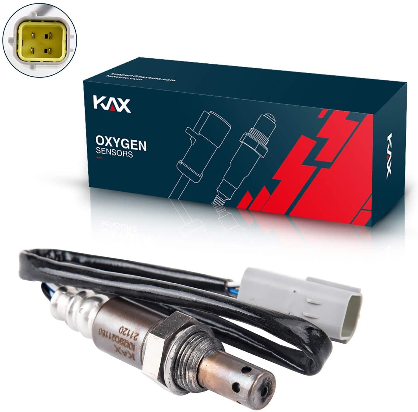 KAX 234-9038 Oxygen Sensor, Upstream 250-54037 Heated O2 Sensor Air Fuel Ratio Sensor 1 Sensor 2 Rear Front Original Equipment Replacement 1Pcs