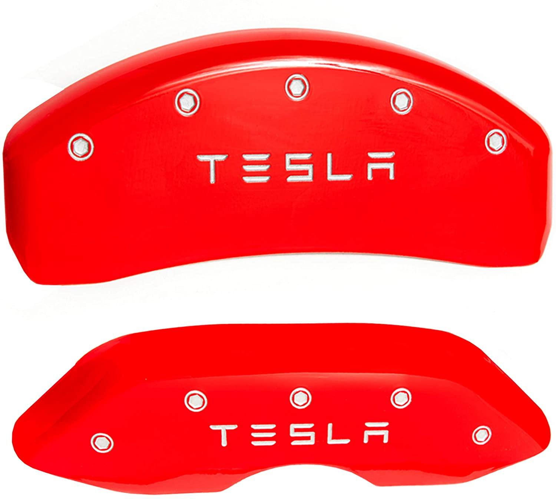 EVANNEX Caliper Covers for Tesla Model 3 - Caliper Covers M3 - Caliper Covers - Brake Caliper Covers - Caliper Covers Red - 14