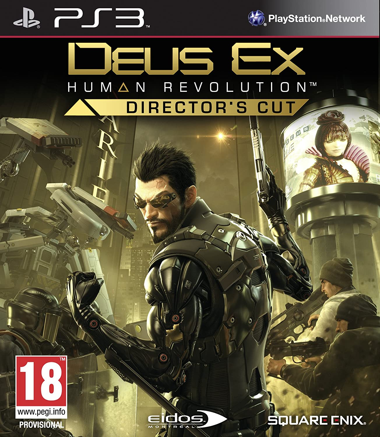 Deus Ex: Human Revolution - Director's Cut (PS3) (UK)