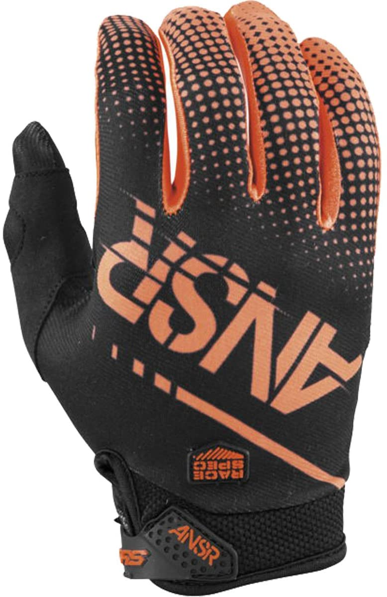Answer Racing A17.5 Syncron Mens MotoX Motorcycle Gloves - Orange/Black / X-Small