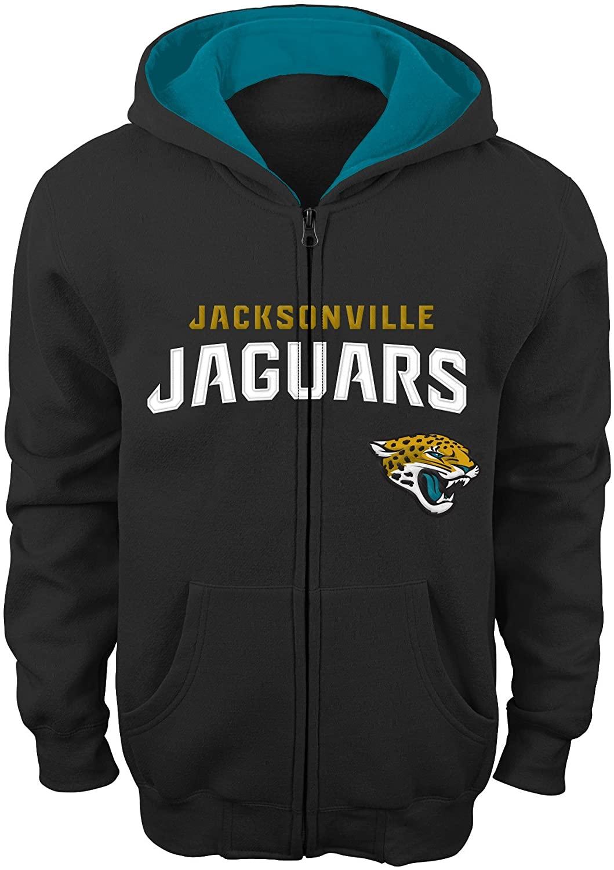Outerstuff NFL Jacksonville Jaguars Full Zip Hoodie