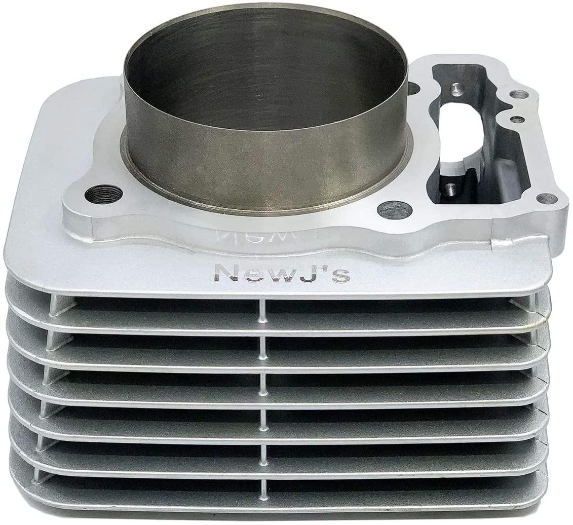 NewJ's Big Bore Cylinder Piston Rings Top End Kit for Honda TRX400EX TRX 400EX 440cc 1999-2008