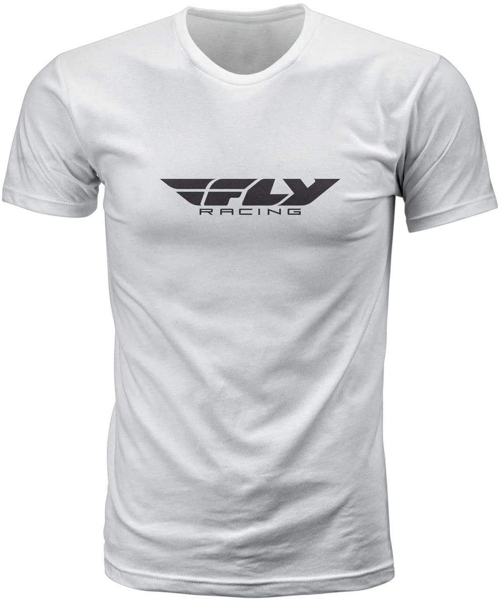 Fly Racing Corp T-Shirt (Medium) (White)