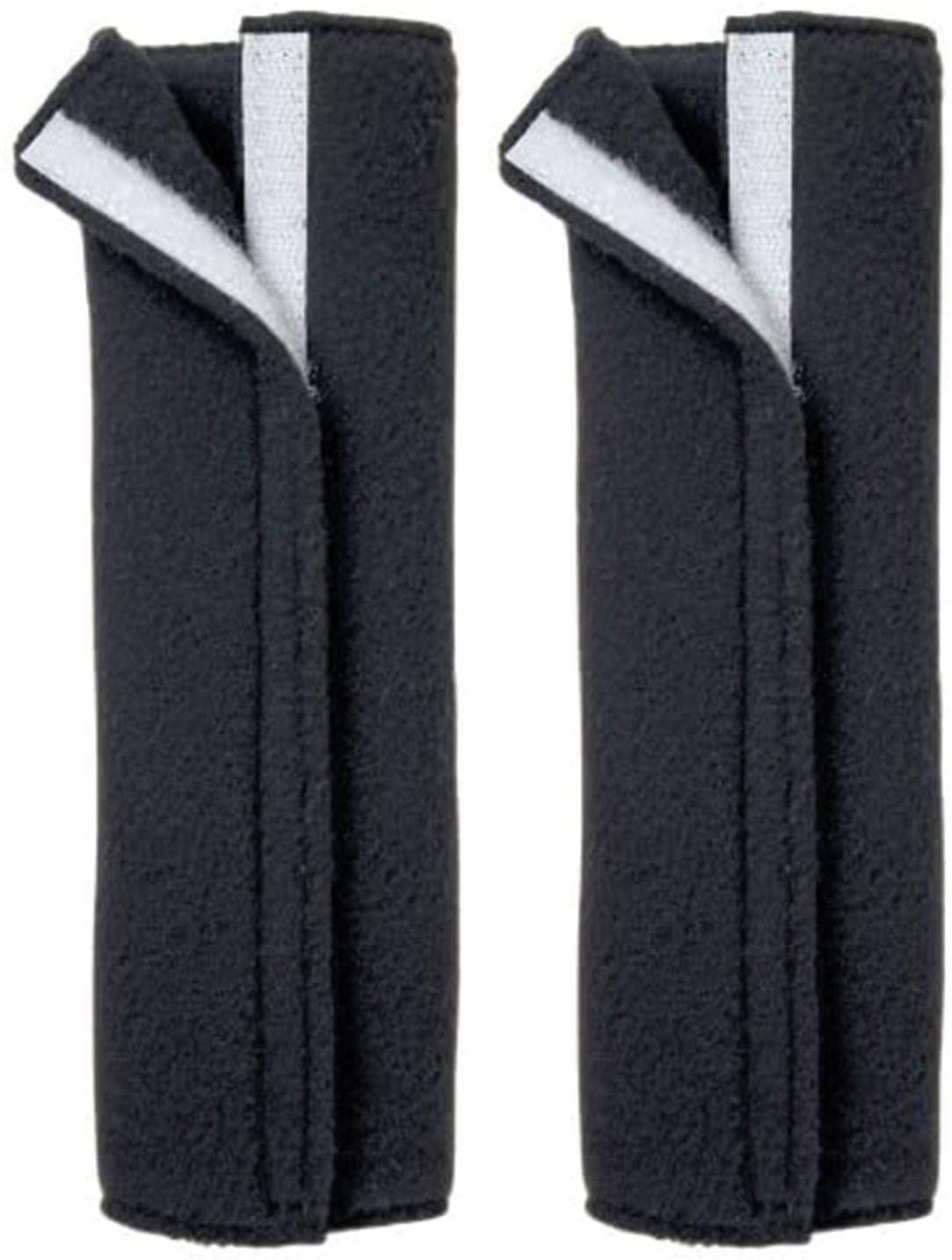 T-Rex Seatbelt Cover, Fleece Seat Belt Pad (Black (2-Pack))
