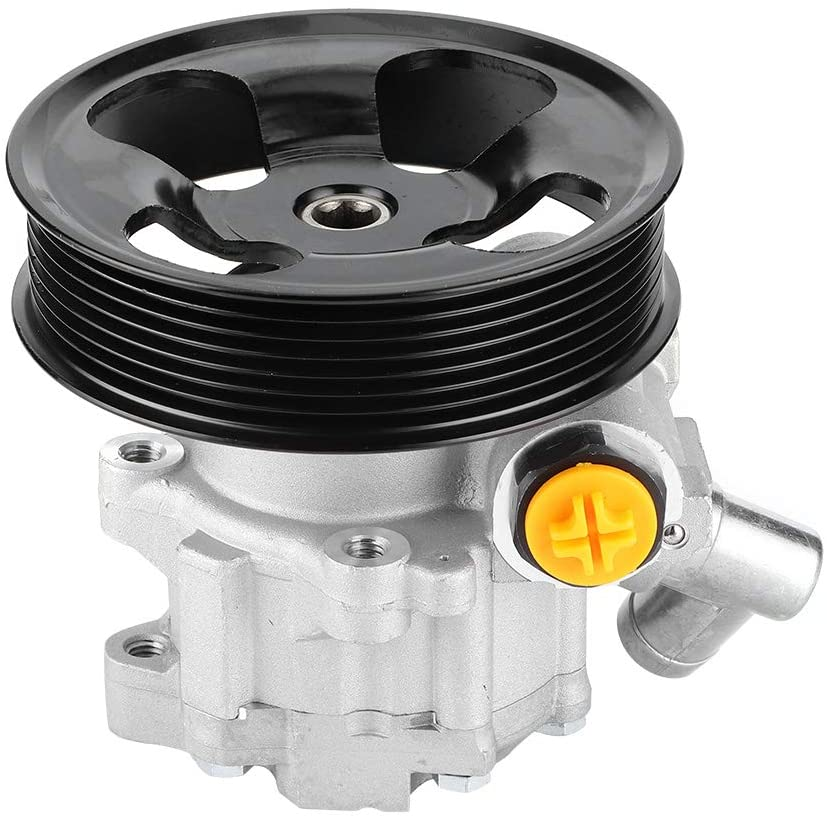 Acouto Power Steering Power Assist Pump,Power Steering Pump 0054668801 Accessory Fit for C209 A209 W203 W211 S203