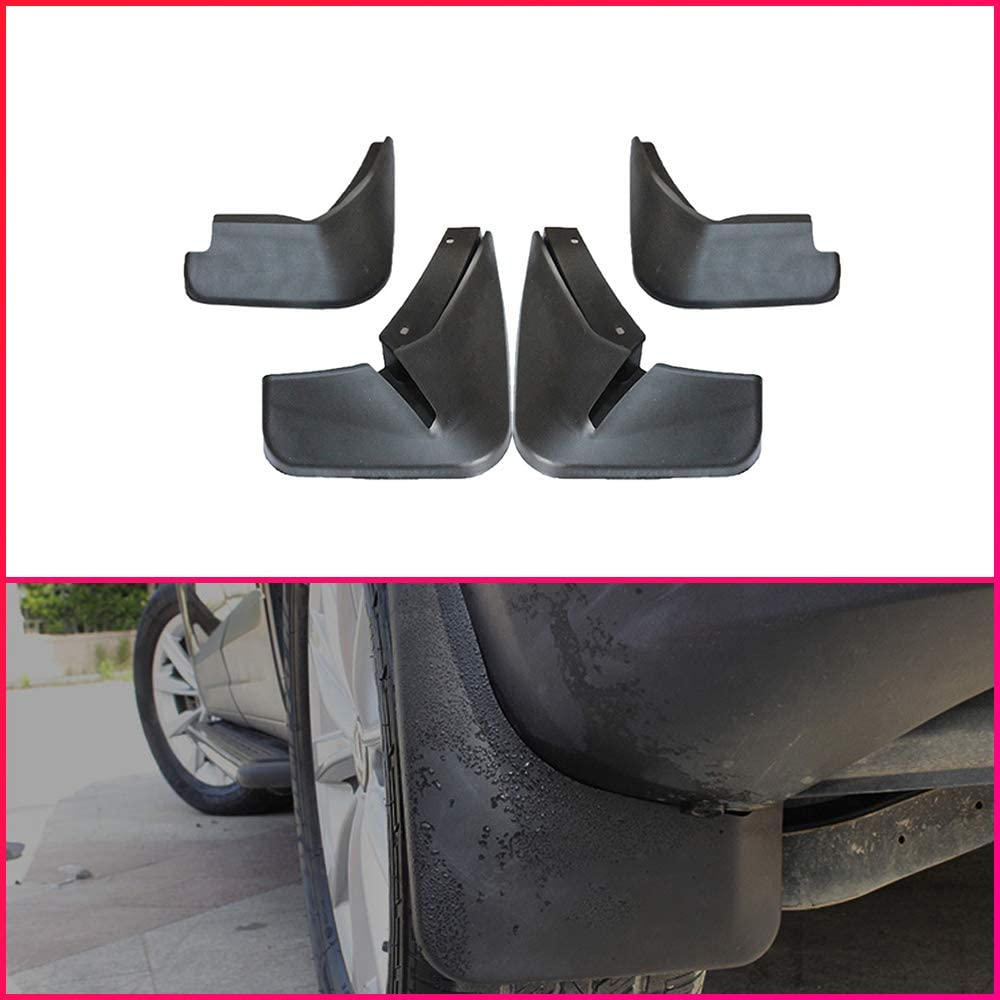 Maite For Ford Fiesta Hatchback 2009-2016 Car Front and Rear Mud Flaps Splash Guards Fender Mudguard 4Pcs