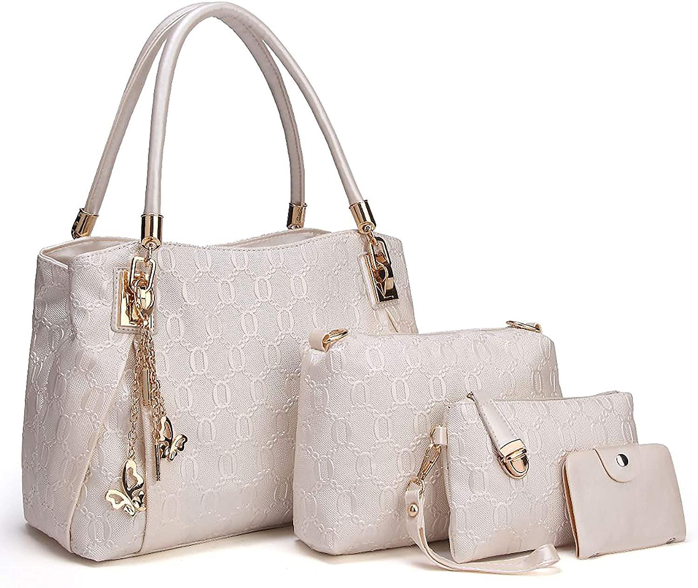 Women's Handbag Set Large Handbag Plus Small Cosmetic Bag   AWL Carli
