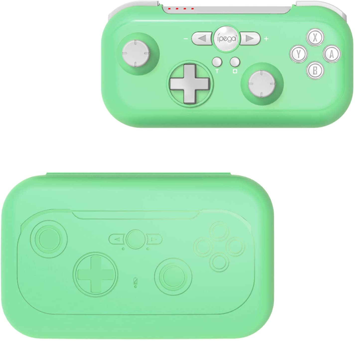 FYOUNG Controller Gamepad Compatible for Nintendo Switch/Switch Lite, Controller for Switch with Turbo Dual Vibration & Motion Control, Multi Functional Gamepad for Nintendo Games (Light Green)
