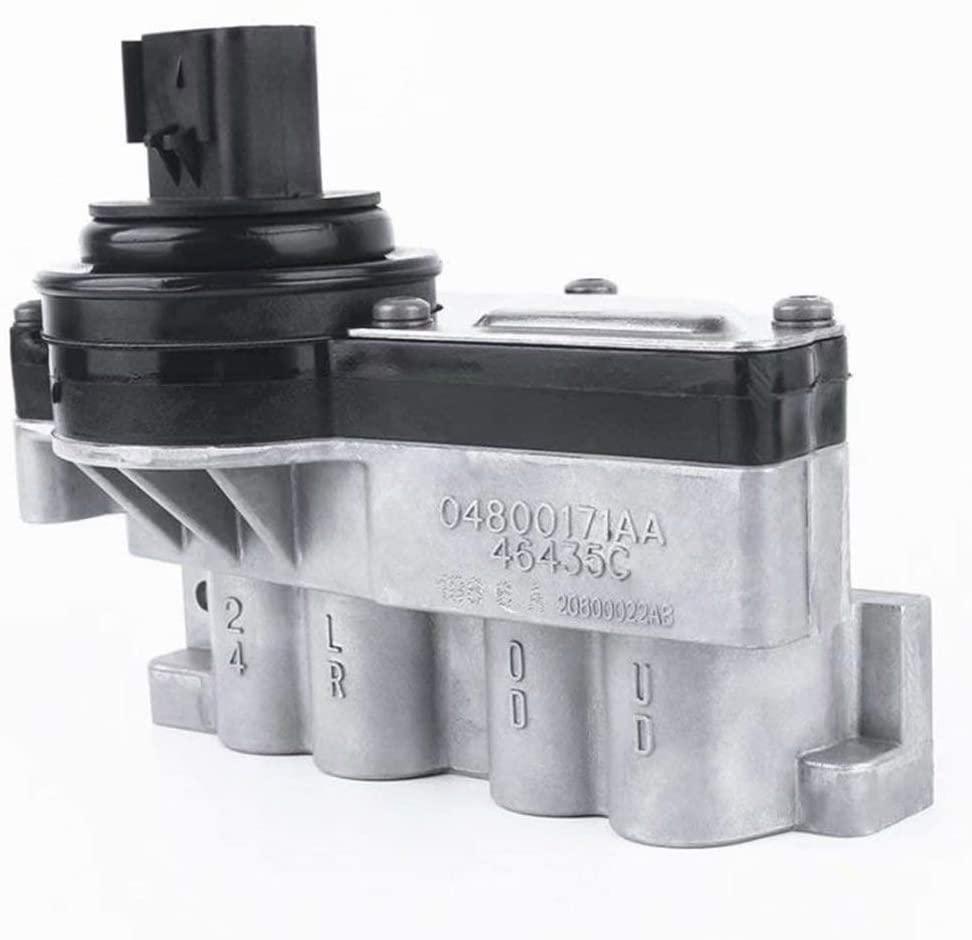 Transmission Shift Solenoid Block 04800171AA Fits for Dodge Challenger 2009-2010 Jeep Wrangler 2003-2006