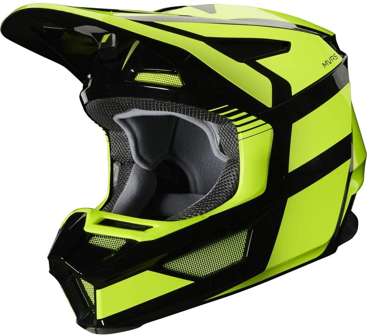 2020 Fox Racing V2 Hayl Helmet-Flo Yellow-XL
