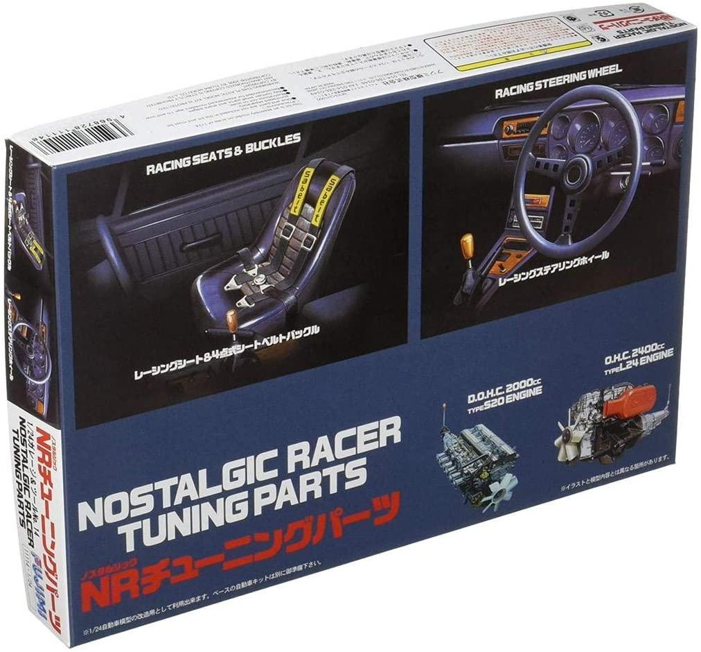 Fujimi 1/24 Scale Nostalgic Racer Tuning Parts - Plastic Model Building Kit # 111148