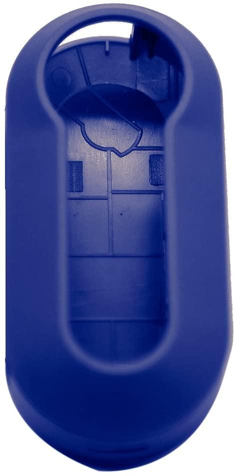 WINOMO Plastic Key Cover Case for Fiat 500 Panda Punto (Blue)