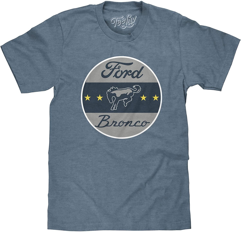 Tee Luv Ford Bronco Logo T-Shirt