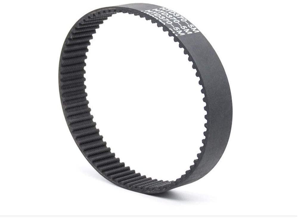 HTD 5M Close Loop Pulley Timing Belt Pitch 5mm Perimeter 400mm Width 25mm (5M-400, 25mm width)