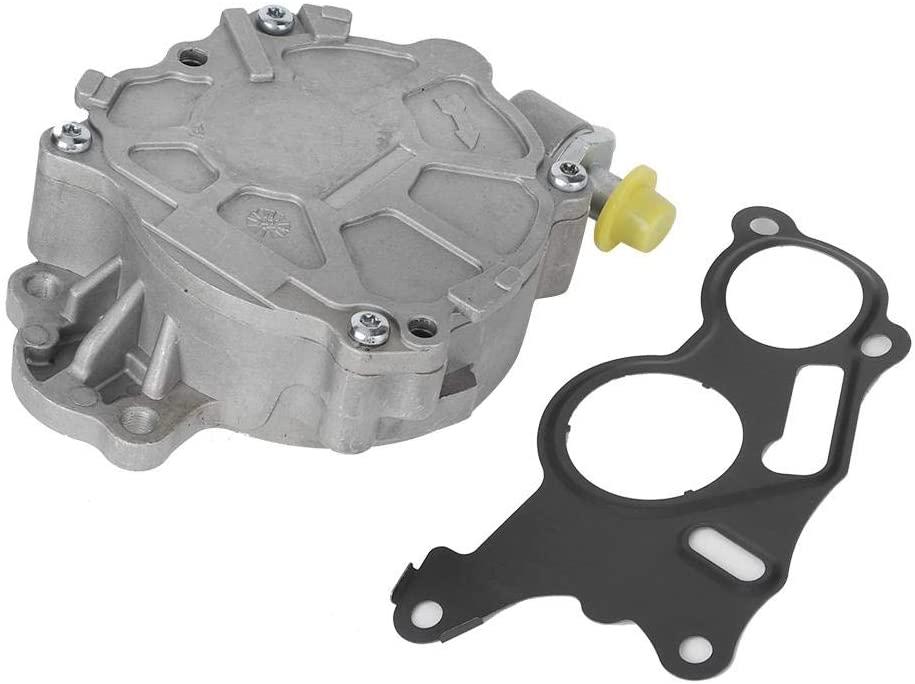 Cuque Car Vacuum Pump 03L145100 72480812 Automotive Power Brake Booster Vacuum Pump Replacement 03L145100F Fits for A3 TDI 2010 2011 2012 2013 Beetle TDI 2013 2014