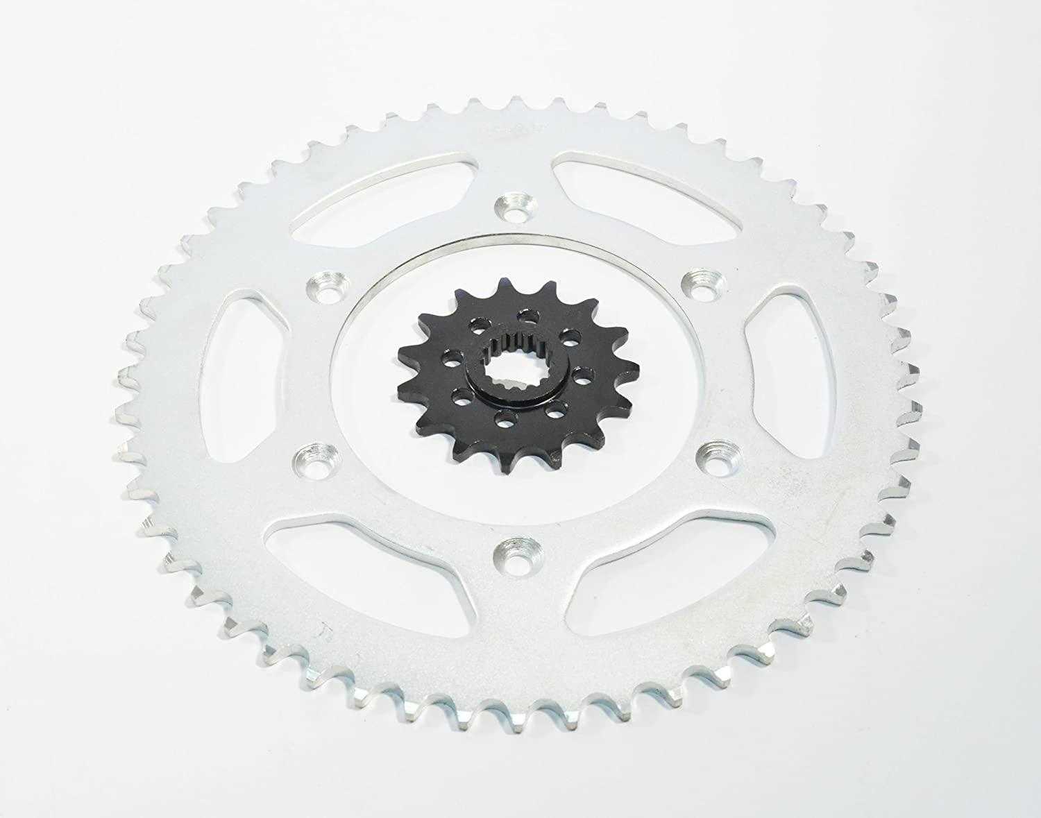 1991 1992 1993 1994 1995 1996 fits KTM 250 SX 15 Tooth Front & 52 Tooth Rear Sprocket
