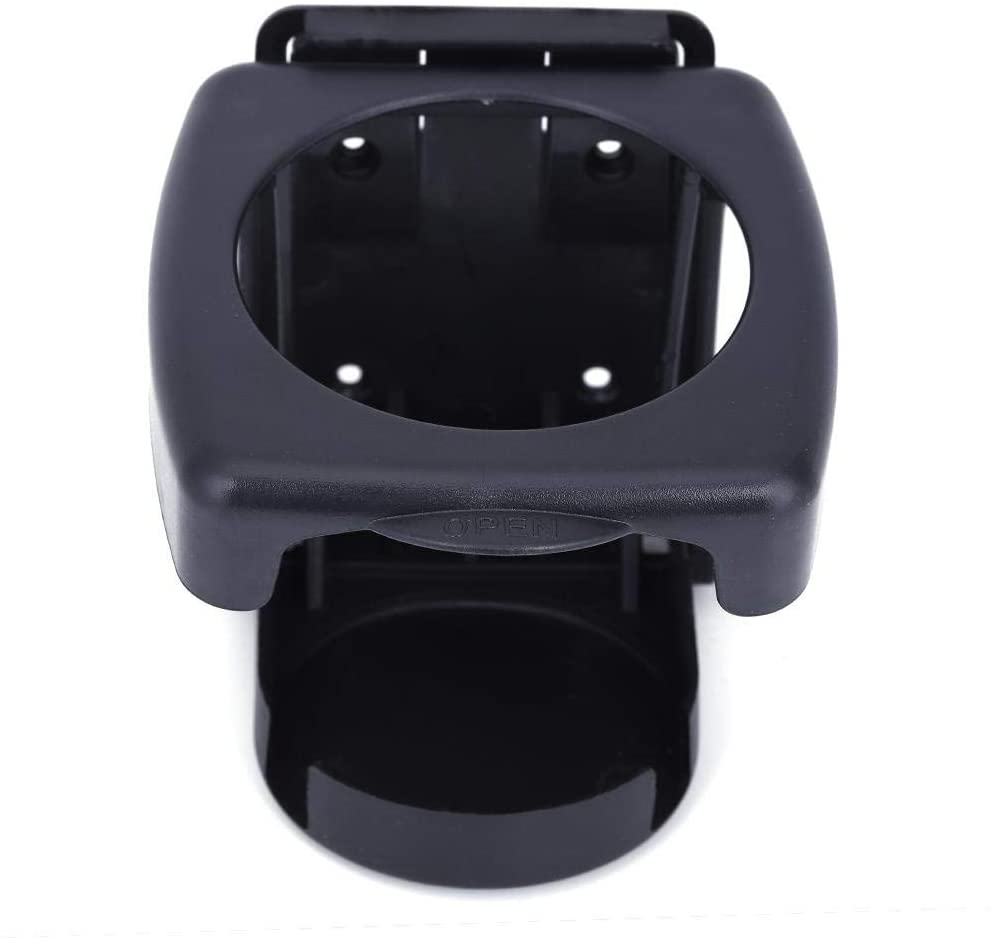 Car Cup Holder, Universal Auto ABS Black Collapsible Cup Holder For Bottle Beverage Cans