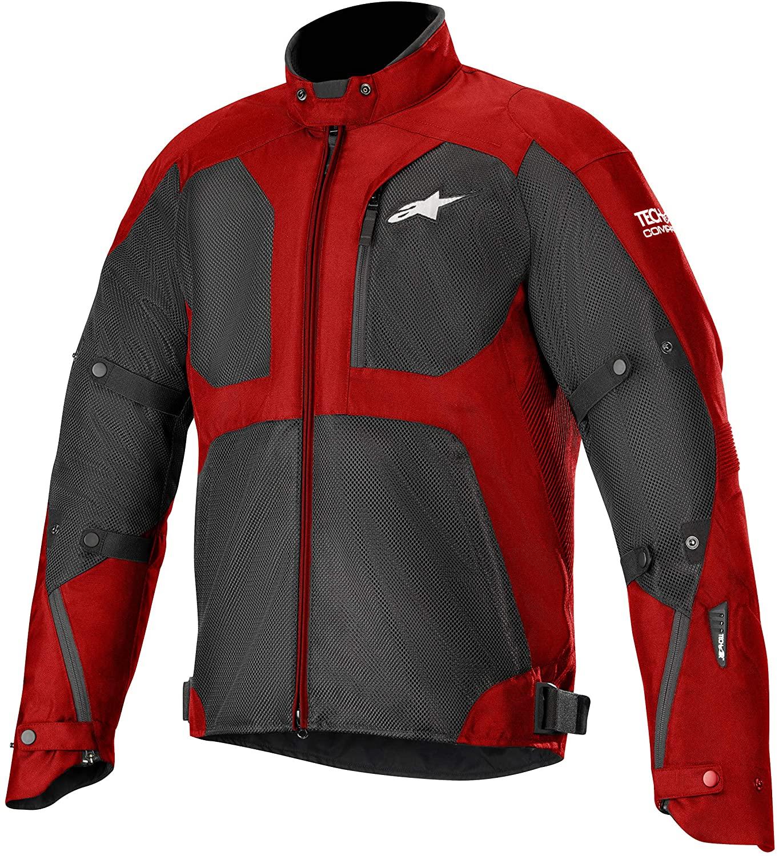 Alpinestars Men's Tailwind Air Waterproof Motorcycle Jacket (Tech-Air Compatible), Red/Black, 2X-Large