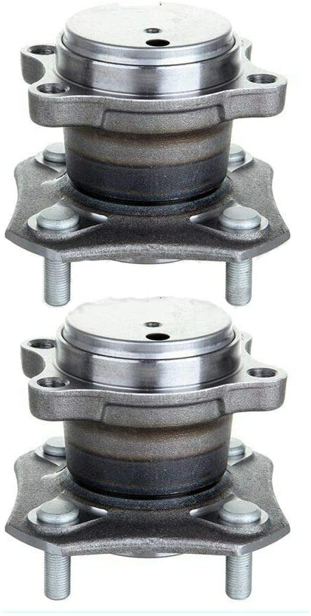 SHENGYAOAUTO 2 REAR Wheel Hub Bearing w/ABS for 2007-2009 2010 2011 2012 For Nissan Sentra