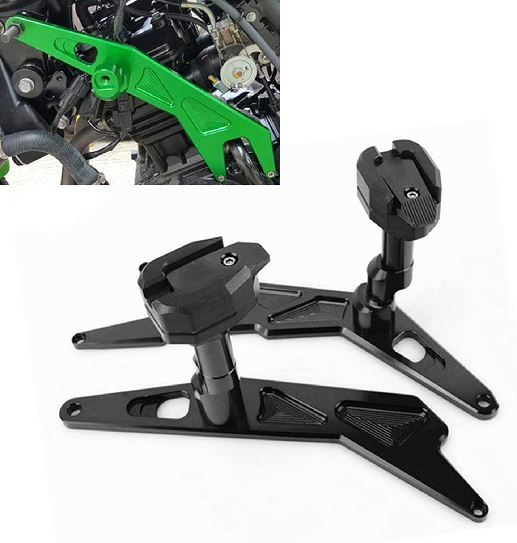 Worldmotop Motorcycle Frame Sliders Protector Guard Fairing engine Frame Crash Protectors for KAWASAKI NINJA250 NINJA300 NINJA 250 300 2013-2018,Falling Protection Frame Slider(black)