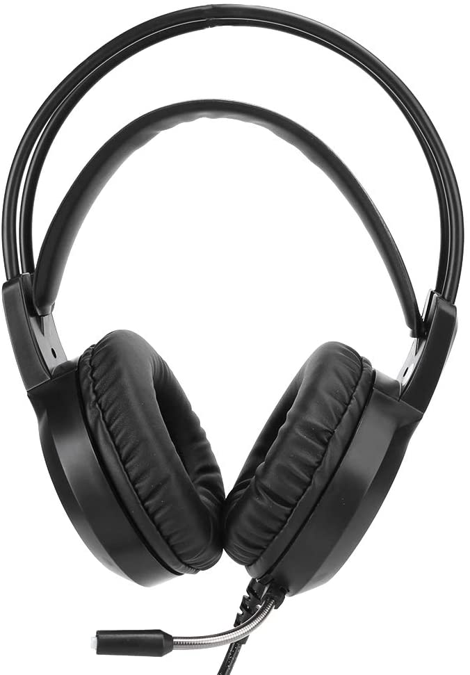 Hilitand Stereo Gaming Headset, USB Noise Cancelling Over Ear Headphones with Mic Support 7.1 Surround Sound for Xbox One/PS4/PC/laptop