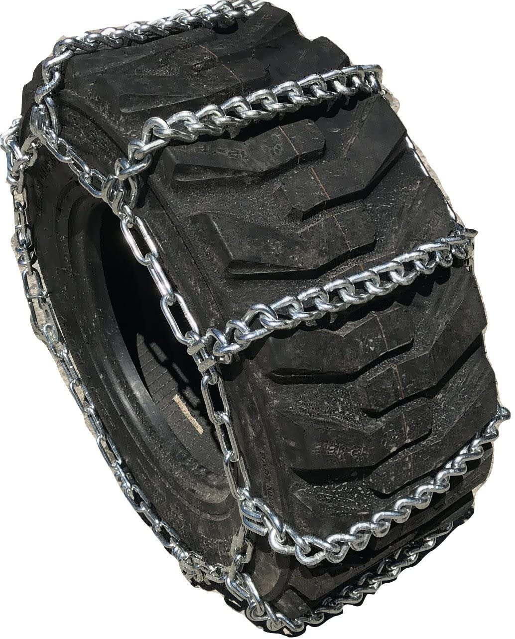 TireChain.com Compatible w/New Holland TS110 16.9-30 Tractor Tire Chains