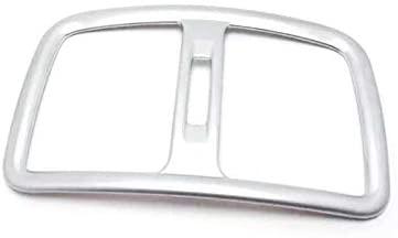 YUZHONGTIAN Car Accessories ABS Matte Armrest Console Rear Air Outlet Vent Cover Trim for Hyundai Tucson 2016-2019