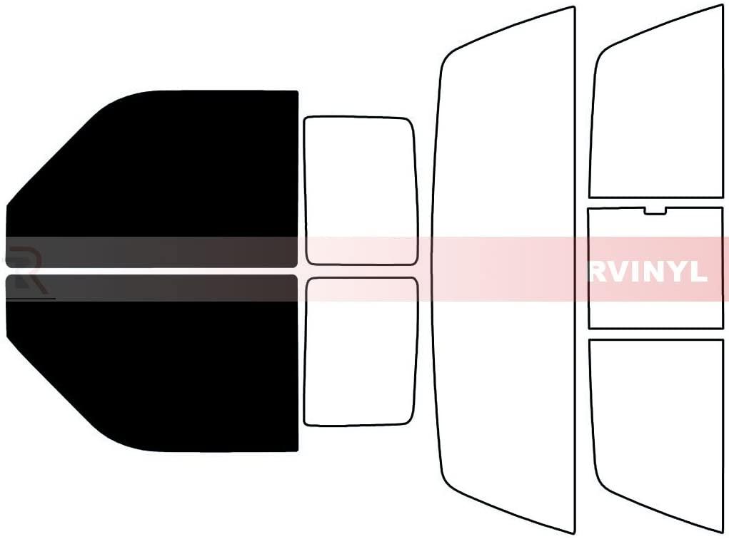 Rtint Window Tint Kit for Dodge Dakota 1990-1996 - Front Kit - 5%