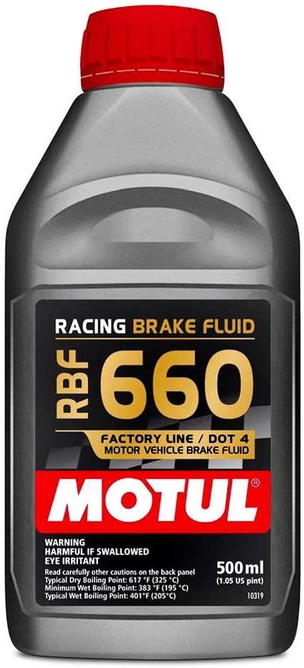 Motul 101667 Brake Fluid 660 Degree