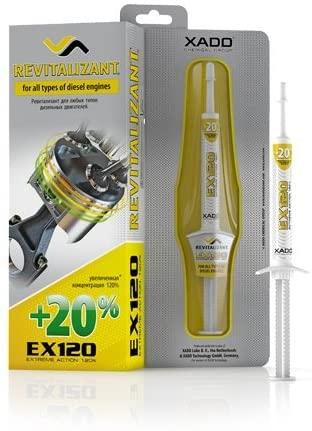 XADO EX120 (Revitalizant) – Diesel (Box 8 ml)