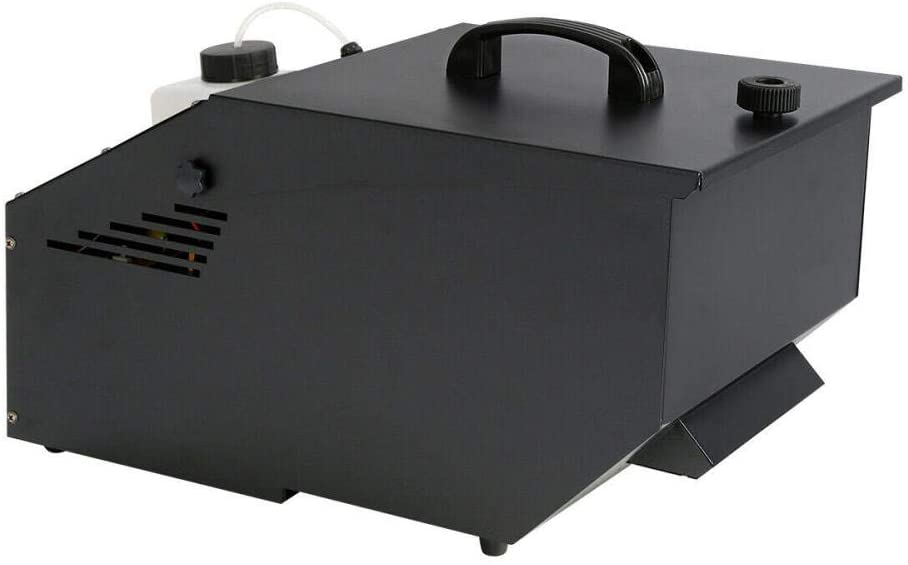 Fog Machine, Stage Effect DMX Low Lying Fog Machine w/Remote Sinking Fog Machine 1200W Show