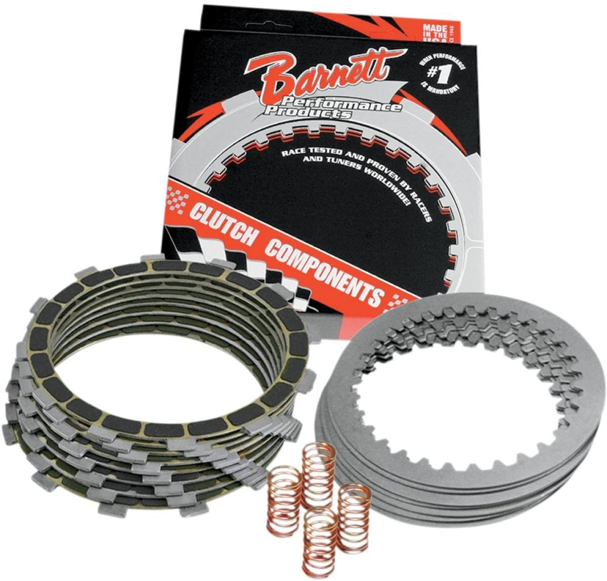 Barnett Performance Products 303-45-10025 - Complete Clutch Kit