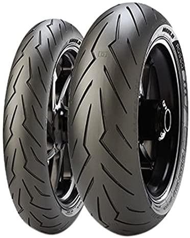 Pirelli Diablo Rosso 3 Rear Motorcycle Tire 190/50ZR-17 (73W) - Fits: Aprilia RSV 1000 Mille 2000-2003