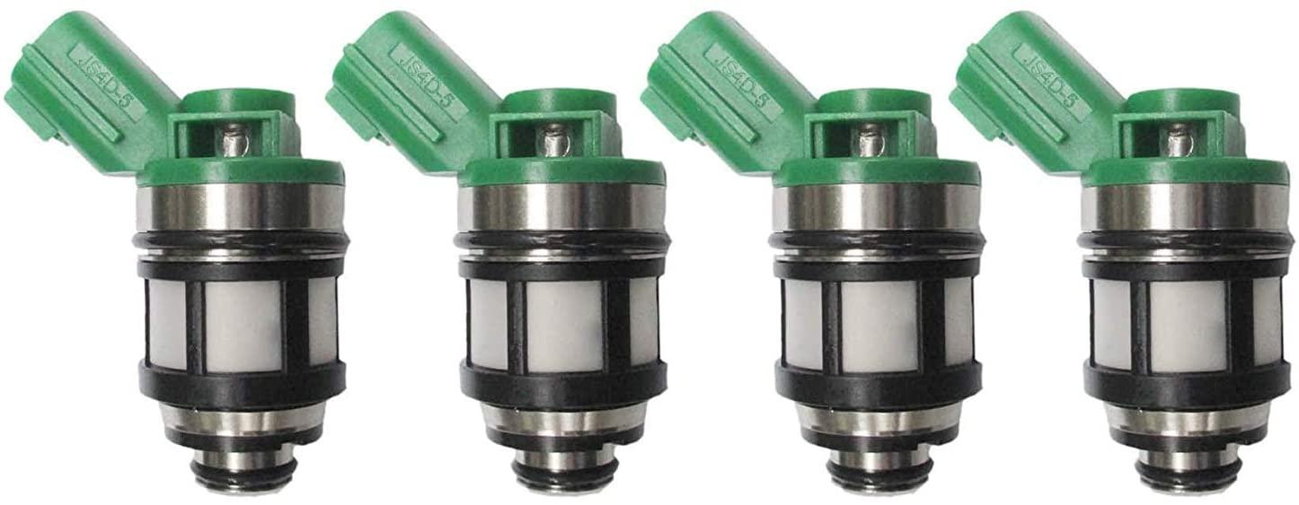 4x New Fuel Injectors For 96-04 Nissan Pickup Frontier Xterra 2.4L JS4D-2